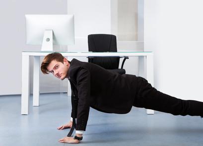 Unternehmensfitness fördert nicht nur die Gesundheit, sondern erhöht auch die Arbeitsleistung.